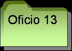 Inventario oficio 13