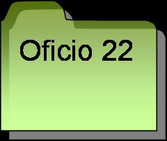 Inventario oficio 22