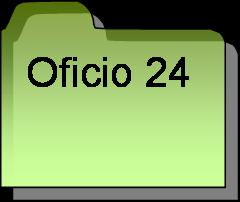Inventario oficio 24