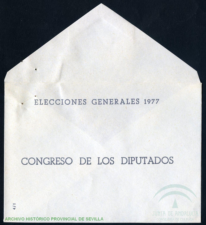 Sobre electoral 1977