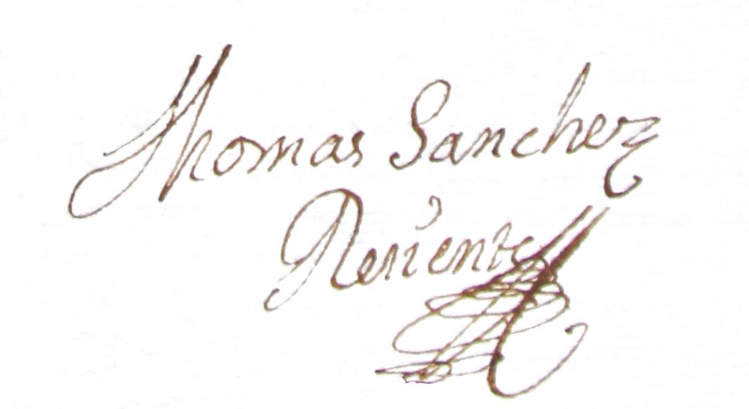 firma Sanchez Reciente