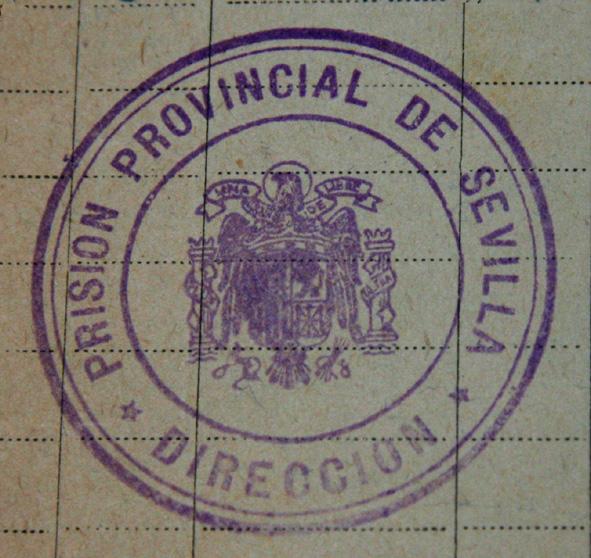 sello de la Prisión Provincial