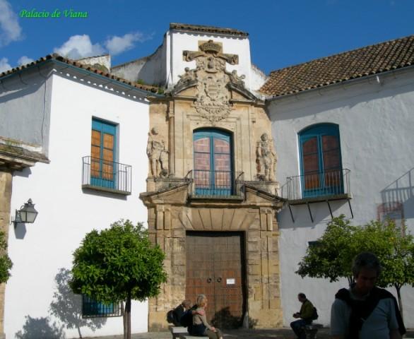 Fachada del Palacio de Viana