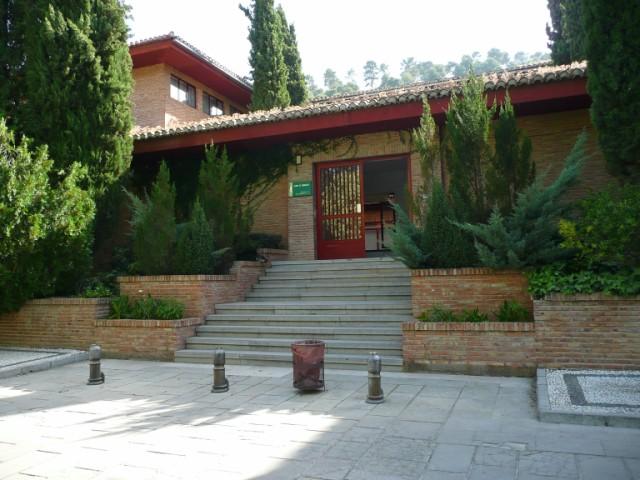 Fachada Exterios Museo de Bellas Artes de Granada