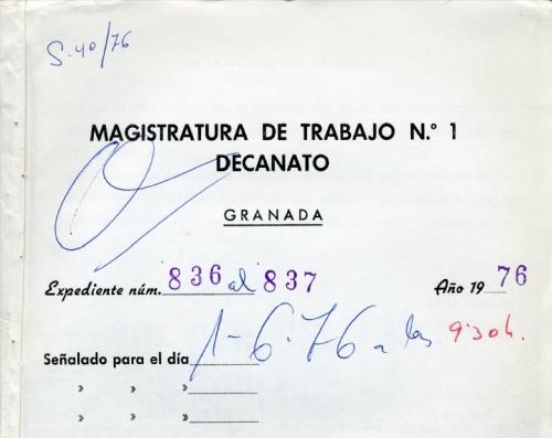 Magistratura 1976
