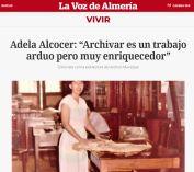 Adela Alcocer - Archivar es un trabajo arduo pero muy enriquecedor