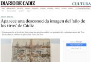 Aparece una desconocida imagen del año de los tiros de Cádiz