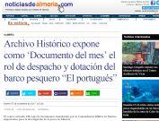 Archivo Histórico expone como `Documento del mes¿ el rol de despacho y dotación del barco pesquero