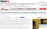 Los documentos históricos de Linares se difunden en Internet