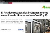 Archivo Linares recupera imágenes de los 80 y 90