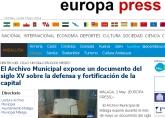 Archivo Municipal Malaga - documento fortificacion ciudad
