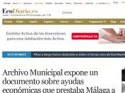 Archivo Municipal expone un documento sobre ayudas económicas que prestaba Málaga a la Corona en el siglo XVII