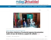 Archivo Málaga expone documentos timbres papel sellado