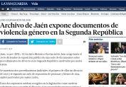 Archivo de Jaén expone documentos de violencia género en la Segunda República