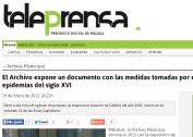 Archivo municipal Málaga - Epidemias