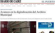 Avances en la digitalización del Archivo Municipal