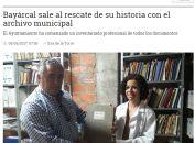 Bayárcal sale al rescate de su historia con el archivo municipal