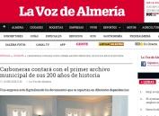 Carboneras contará con el primer archivo municipal de sus 200 años de historia