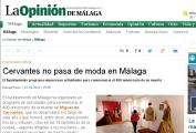 Cervantes no pasa de moda en Málaga
