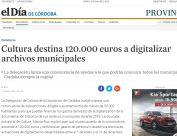 Cultura destina 120.000 euros a digitalizar archivos municipales