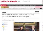 Diputación ayudará a ordenar los fondos 27 municipios - Almería
