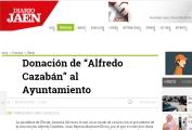 Donación de Alfredo Cazabán al Ayuntamiento
