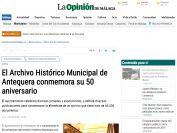 El Archivo Histórico Municipal de Antequera conmemora su 50 aniversario