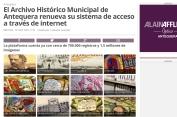 El Archivo Histórico Municipal de Antequera renueva su sistema de acceso a través de internet