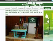El Archivo Histórico Provincial acoge documentos relativos al último de los Trece de la Fama, Martín de la Paz