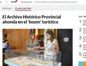 El Archivo Histórico Provincial ahonda en el 'boom' turístico