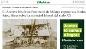 El Archivo Histórico Provincial de Málaga expone sus fondos fotográficos sobre la actividad laboral del siglo XX