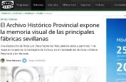 El Archivo Histórico Provincial expone la memoria visual de las principales fábricas sevillanas