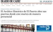El Archivo Histórico de El Puerto abre sus puertas desde este martes de manera presencial