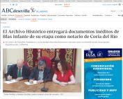 El Archivo Histórico entregará documentos inéditos de Blas Infante de su etapa como notario de Coria del Río