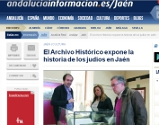 El Archivo Histórico expone la historia de los judíos en Jaén
