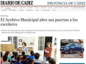 El Archivo Municipal abre sus puertas a los escolares