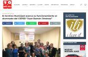 El Archivo Municipal acerca su funcionamiento al alumnado del CEPER Juan Ramón Jiménez