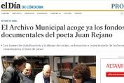 El Archivo Municipal acoge ya los fondos documentales del poeta Juan Rejano