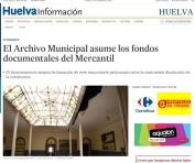 El Archivo Municipal asume los fondos documentales del Mercantil