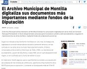 El Archivo Municipal de Montilla digitaliza sus documentos más importantes mediante fondos de la Diputación
