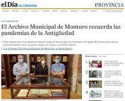 El Archivo Municipal de Montoro recuerda las pandemias de la Antigüedad