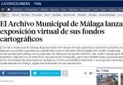 El Archivo Municipal de Málaga lanza una exposición virtual de sus fondos cartográficos
