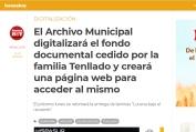 El Archivo Municipal digitalizará el fondo documental cedido por la familia Tenllado y creará una página web para acceder al mismo