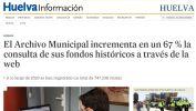 El Archivo Municipal incrementa en un 67  la consulta de sus fondos históricos a través de la web