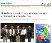 El Archivo Municipal organiza para hoy unas jornadas de puertas abiertas