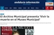 El Archivo Municipal presenta Vivir la muerte en el Museo Municipal