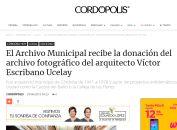 El Archivo Municipal recibe la donación del archivo fotográfico del arquitecto Víctor Escribano Ucelay