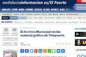 El Archivo Municipal recibe material gráfico de Telepuerto