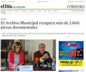 El Archivo Municipal recupera más de 2.600 piezas documentales