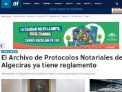 El Archivo de Protocolos Notariales de Algeciras ya tiene reglamento